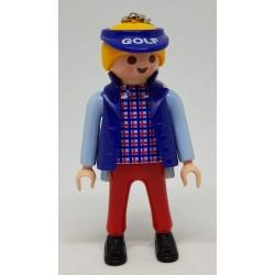 Llavero Playmobil original Chica Golfista LL4