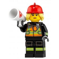 Minifig Lego 19 Chica Bombero