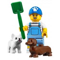 Minifig Lego 19 Paseadora de Perros