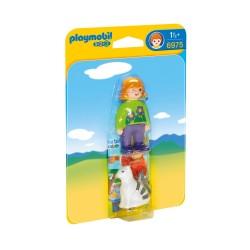 Playmobil 6975 1.2.3. NIña con gato
