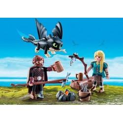 Playmobil 70040 Como entrenar a tu Dragón