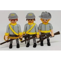 Playmobil 3 soldados L226