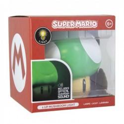 Lampara 1UP Super Mario Nintendo