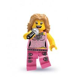 Minifig Lego V2 Cantante