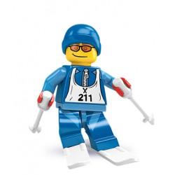 Lego Minifig V2 Esquiador