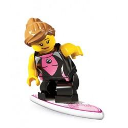 Lego Minifig V4 Surfista