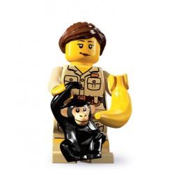 Lego Minifig V5 Cuidadora de monos