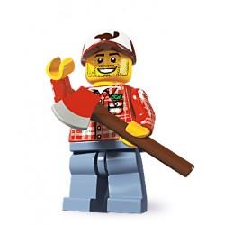 Lego Minifig V5 Leñador