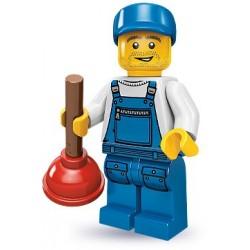 Lego Minifig V9 Fontanero