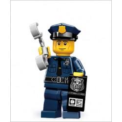Lego Minifig V9 Policía