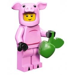 Minifig Lego 12 Disfraz Cerdito
