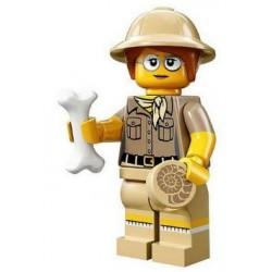 Minifig Lego 13 Paleontóloga