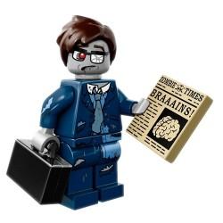 Minifig Lego 14 Ejecutivo Zombie