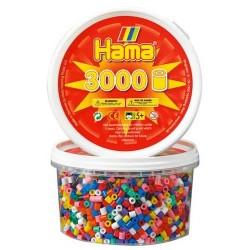 Hama Midi 3000 surtido 10 colores bote 201_00