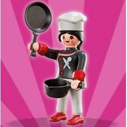 Playmobil S4 - Cocinera