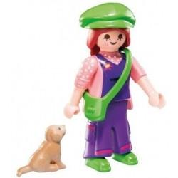 Playmobil S7 - Chica con perro
