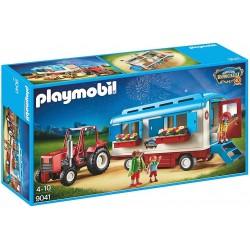 Caravana con tractor de Circo Roncalli - Playmobil 9041