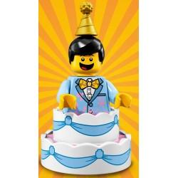 Minifig Lego S18 Chico saliendo del pastel