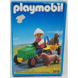 3715 Playmobil Niño con Tractor