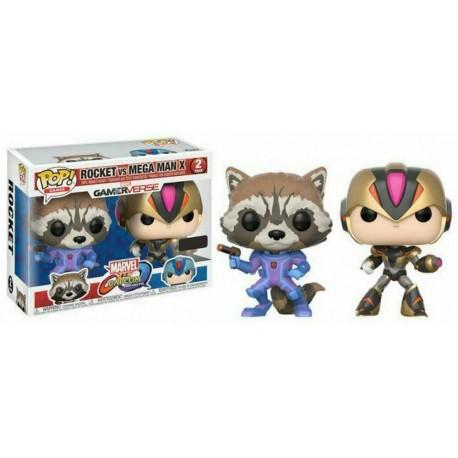 Funko Pop Rocket vs Megaman X