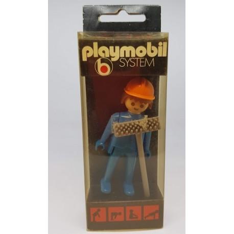 3218 Playmobil Obrero Blister 1974