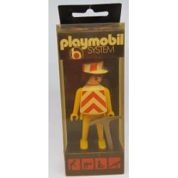 3219 Playmobil Obrero Blister 1974