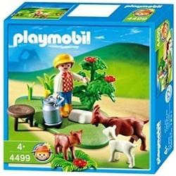 4499 Playmobil Niño con Cabras