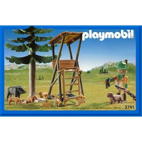 3741 Playmobil Puesto vigilancia Bosque